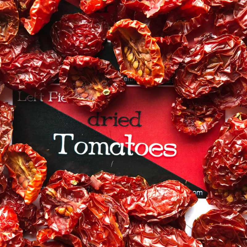 Left Fields Dried Tomatoes